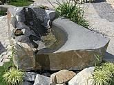Quellstein Granit