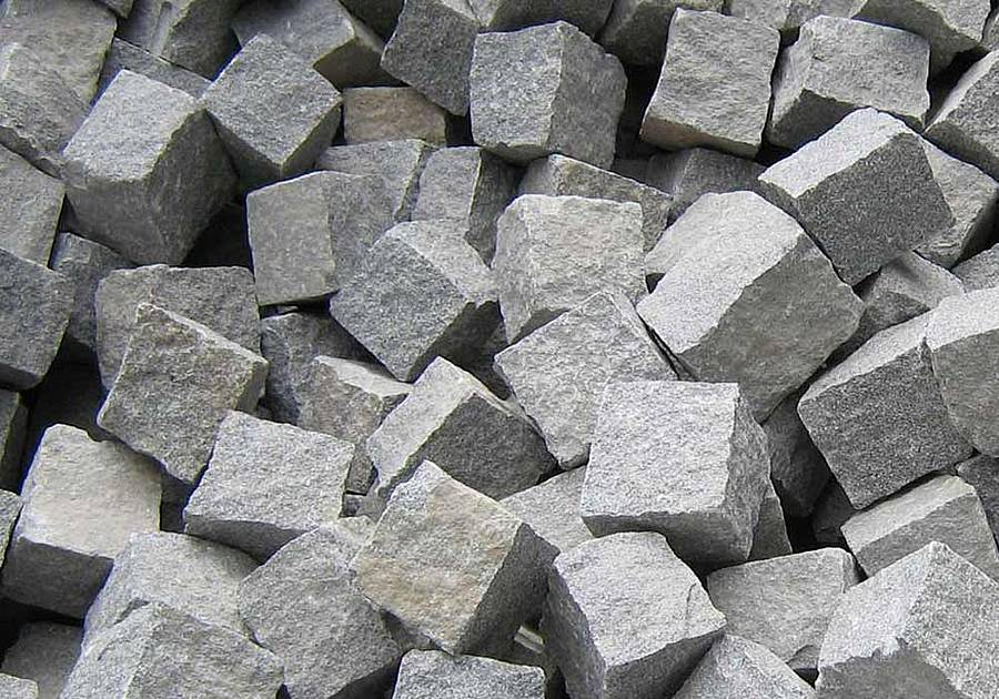 Moosholzer Granit hellgrau