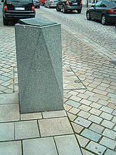 Poller aus Granit
