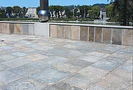 gebrauchte Granitplatten