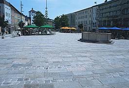 alte Granitplatten