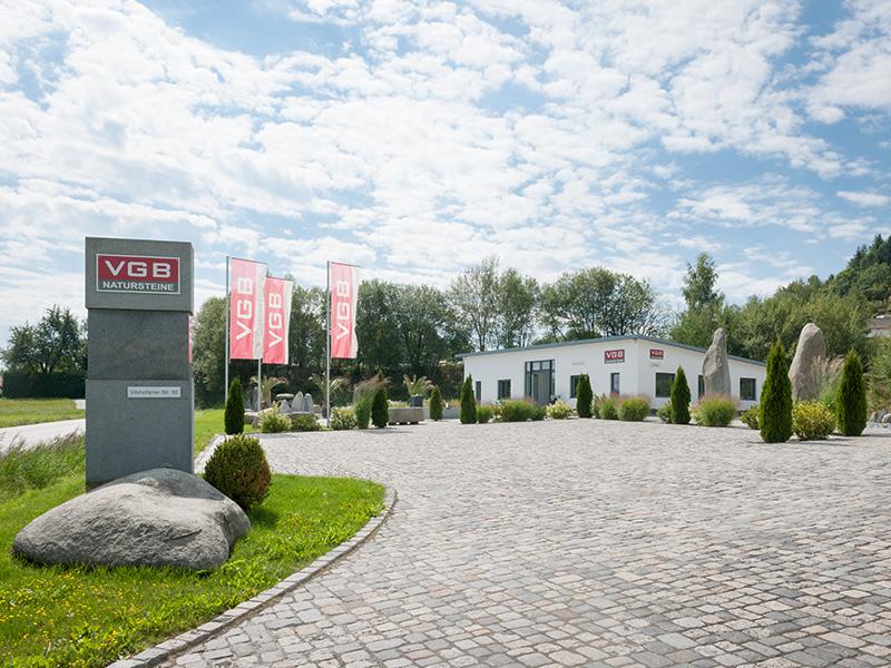 VGB Natursteine – Unternehmensgebäude
