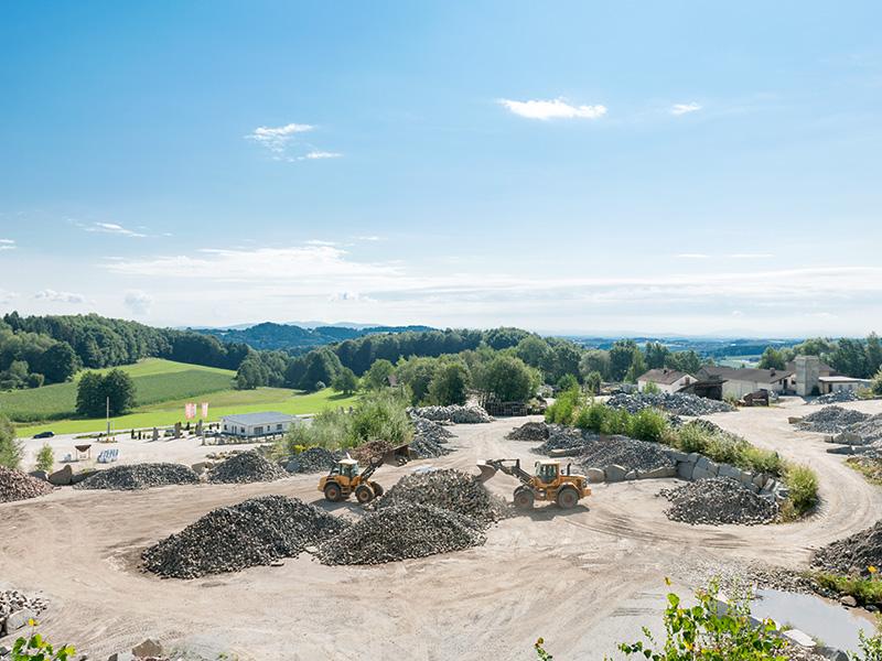 VGB Natursteine Gelände und Lager