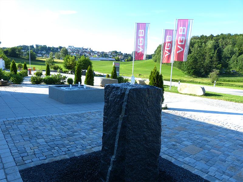 VGB Natursteine Ausstellung